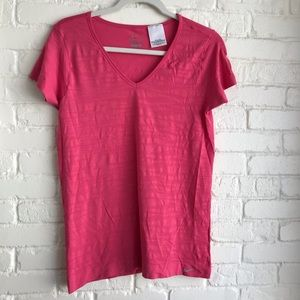 Nike Dri Fit Athletic Top short sleeve pink large